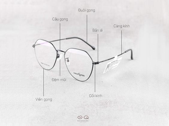 Gọng kính cận tại mắt kính Nam Quang