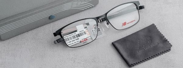 Chất liệu cao cấp để thiết kế gọng kính là ưu tiên hàng đầu của thương hiệu New Balance