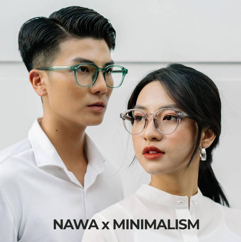Gọng Kính Nawa x Minimalism